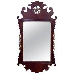 Late 18th Century George III Mahogany Mirror