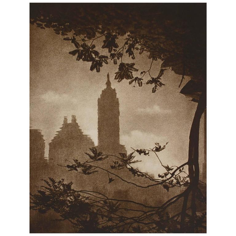 Photogravure, New York City