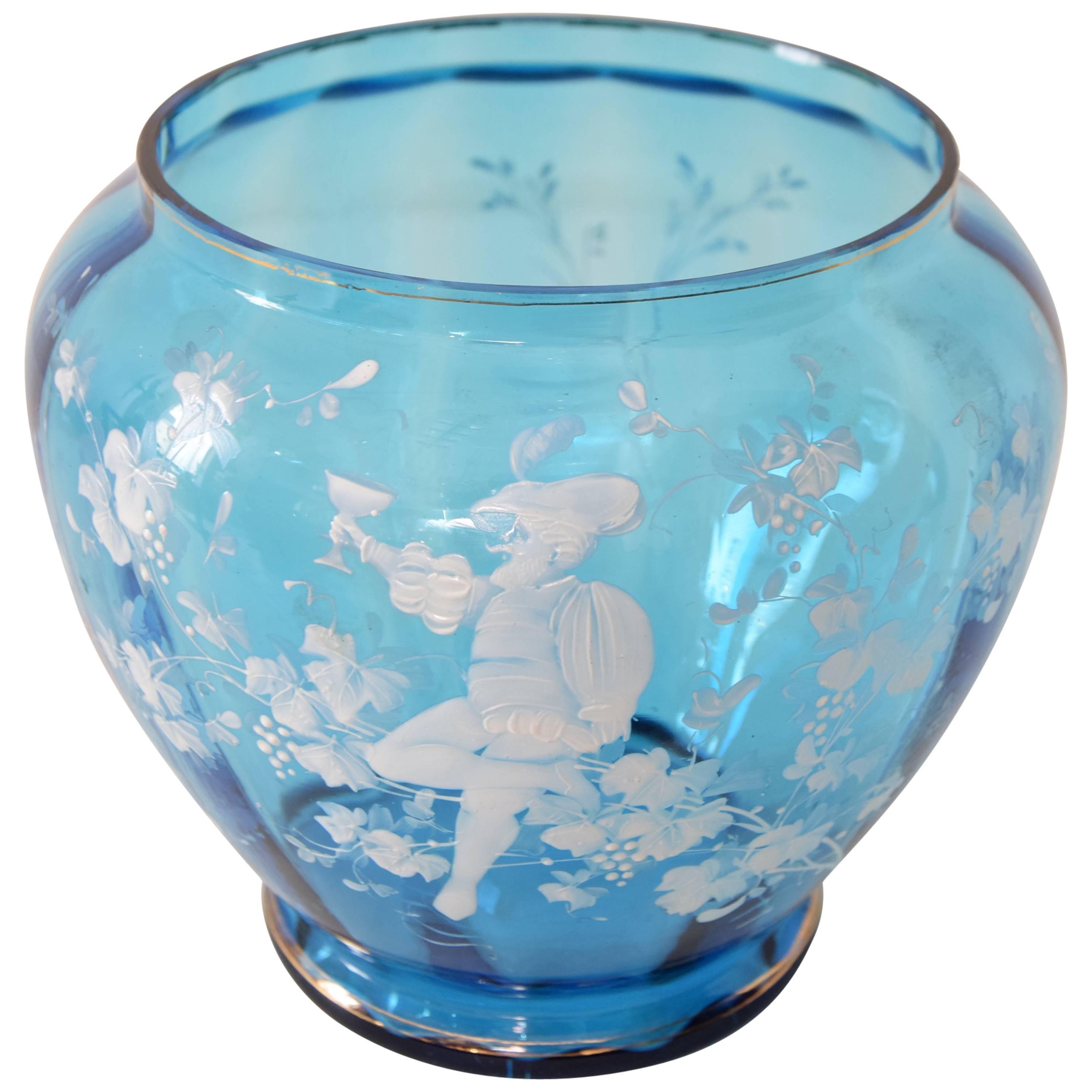 Decorative Glass Vase, circa 1920s