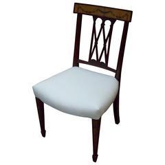 English Mahogany Side Chair