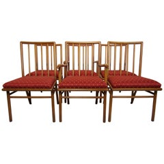 T.H. Robsjohn-Gibbings Set of Six Dining Chairs  for Widdicomb, circa 1952