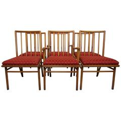 Set of Six Dining Chairs T.H. Robsjohn-Gibbings for Widdicomb, circa 1952