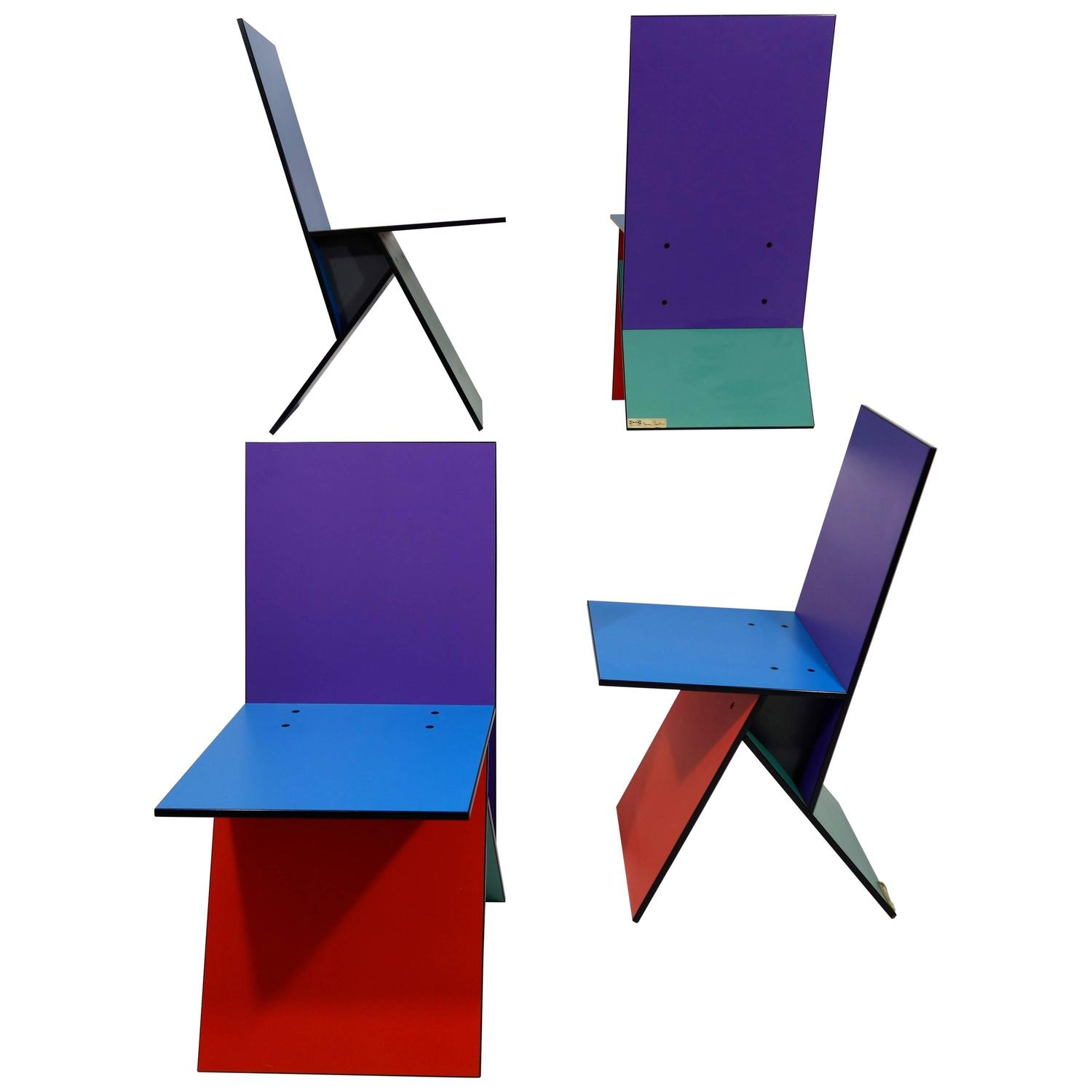 Vilbert Chairs By Verner Panton For Ikea For Sale At 1stdibs