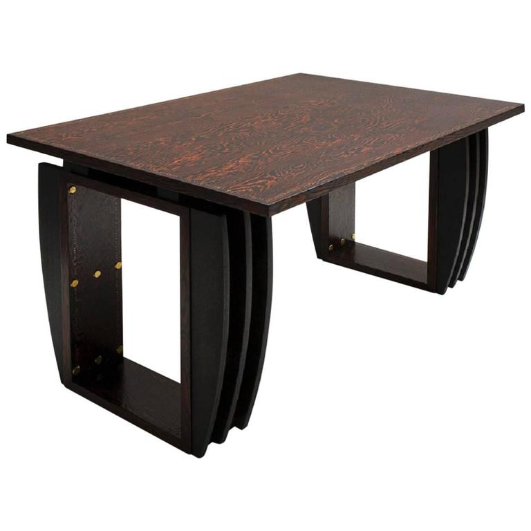 andr sornay oregon pine dining room table circa 1935 for sale at