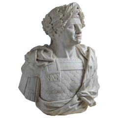 Monumental Busts of Roman Emperors