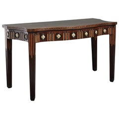 George III Mahogany Side Table in the manner of Sir William Chambers
