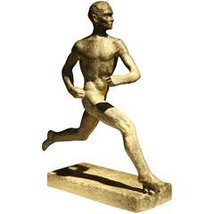 Wäinö Aaltonen, Athletische Skulptur, Finnland, 1950er Jahre