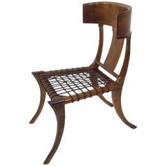 Vitruvius Klismos Chair after Robsjohn-Gibbings