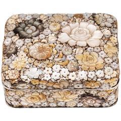 Japanese Shibayama Trinket Box