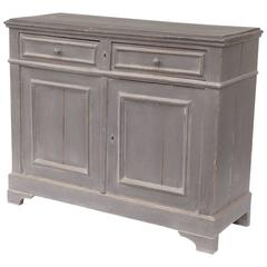 Pine in Painted French Buffet