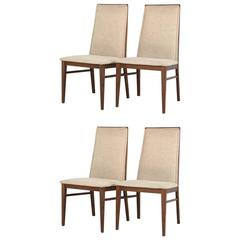 Milo Baughman for Dillingham Dining Chairs, Set of Four