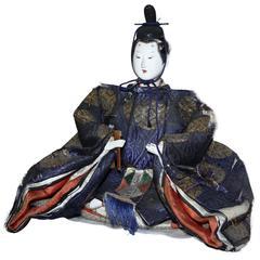 Japanese Emperor Doll, Meiji Period