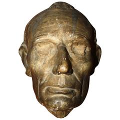 19th Century Lincoln Life Mask by Leonard Volk