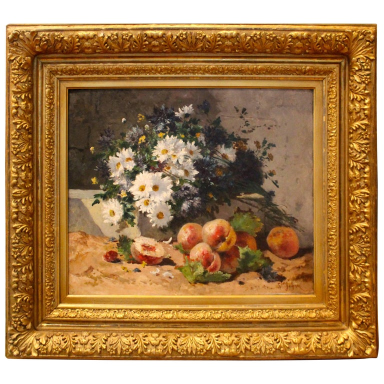 19th Century Still Life Painting For Sale