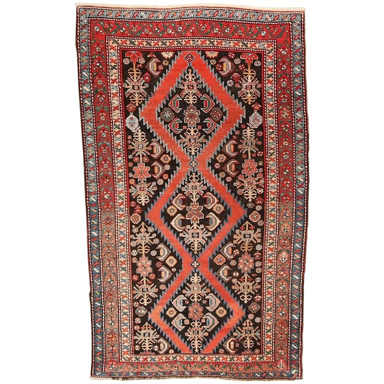 Armenian Antique Rugs: Rare Antique Armenian Geteshan Karabagh At 1stdibs