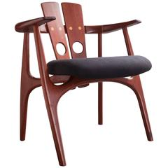 "Custom ""Katita"" Chair by Sergio Rodrigues, Brazil, 2004"