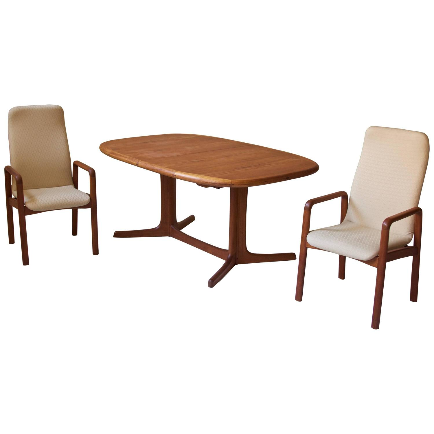 danish teak dining set at 1stdibs