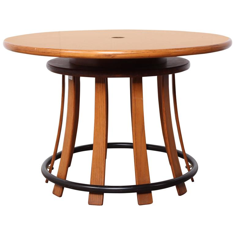 Toad Stool Table by Edward Wormley for Dunbar For Sale