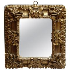 Antique Hand-Carved Gilt Mirror