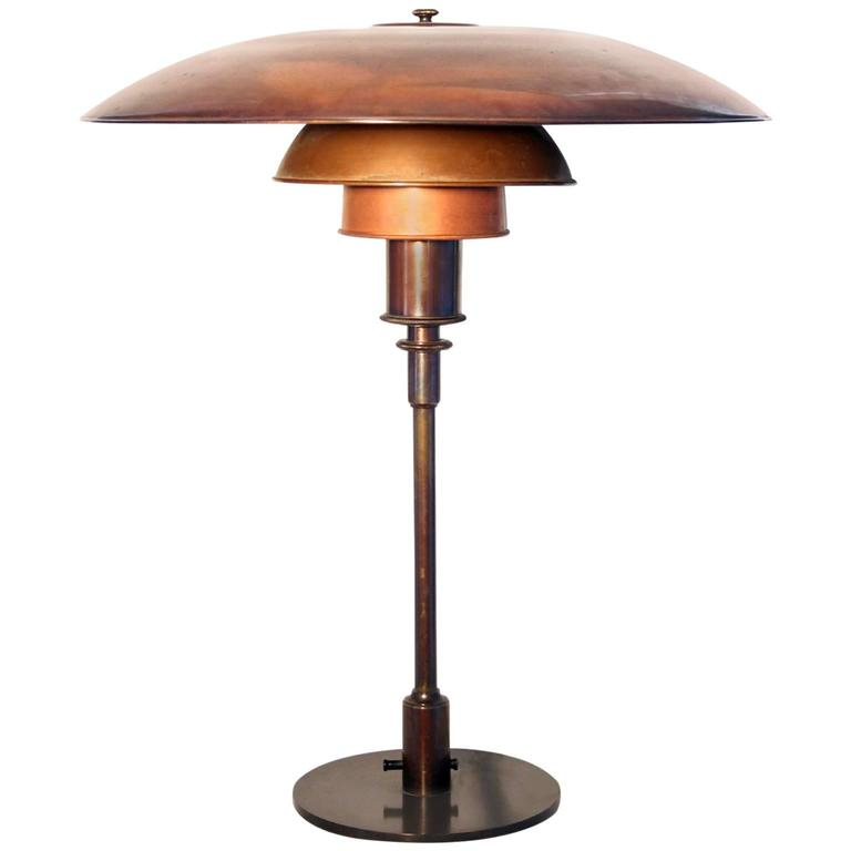 poul henningsen table lamp at 1stdibs. Black Bedroom Furniture Sets. Home Design Ideas