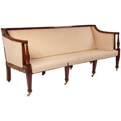 Quality Eight Leg Regency Three-Seat Settee