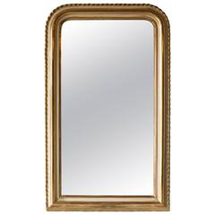 19th Century Louis Philippe Pie Crust Mirror