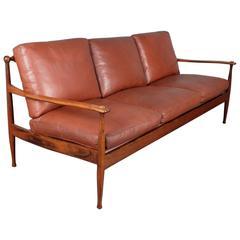 Midcentury Danish Rosewood Sofa