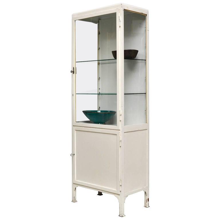 Vintage Medical Cabinet 1960s For