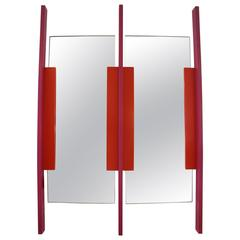 Memphis Style Wall Mirror