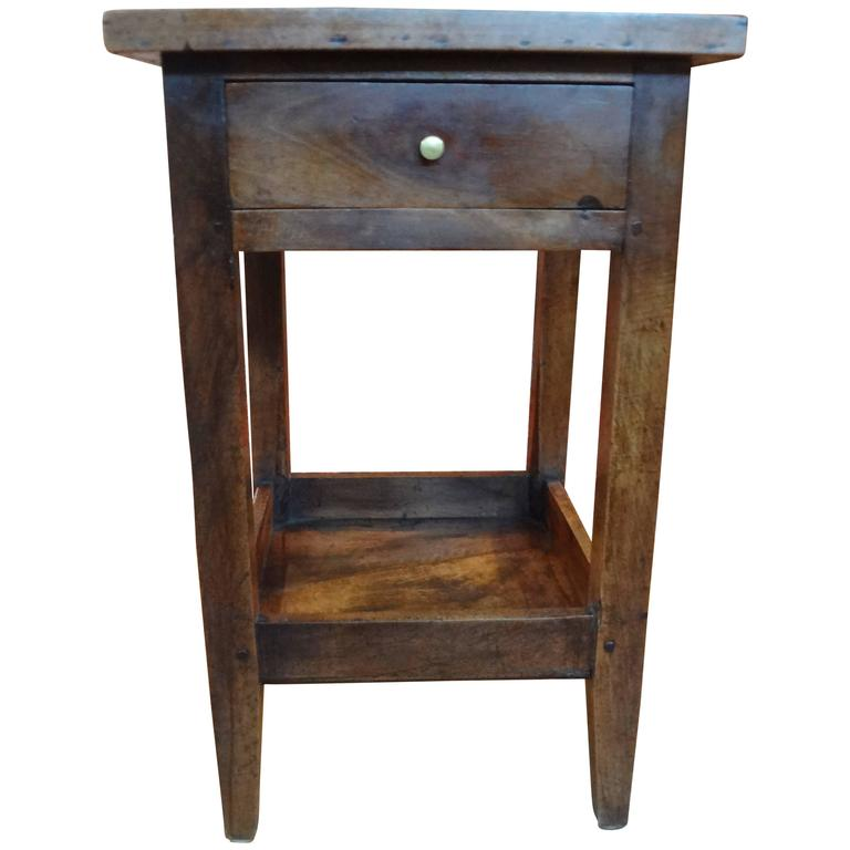 19th century french louis philippe walnut table for sale for Table louis philippe