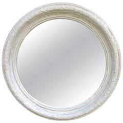 Monumental 1930s Neoclassical Style Plaster Mirror