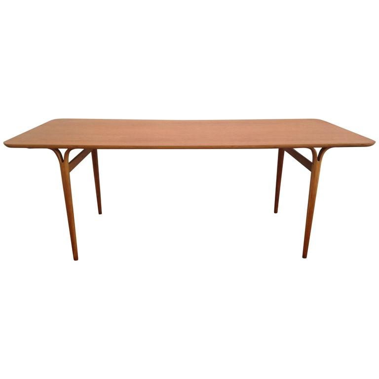 Bruno Mathsson 1960s Teak Dining Table