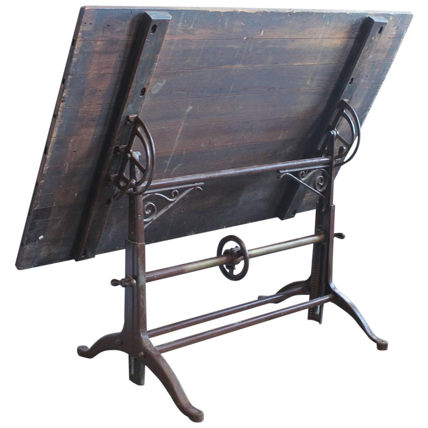 antique drafting table for sale at 1stdibs