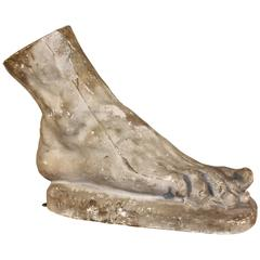 Classical Plaster Cast of Foot