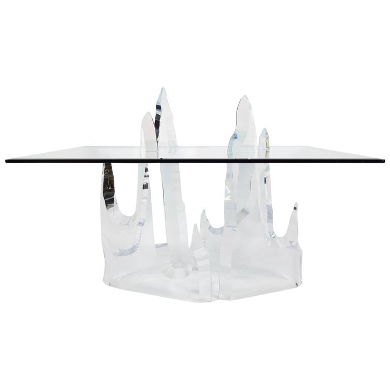 """Lion in Frost """"Iceberg"""" Dining Table"""