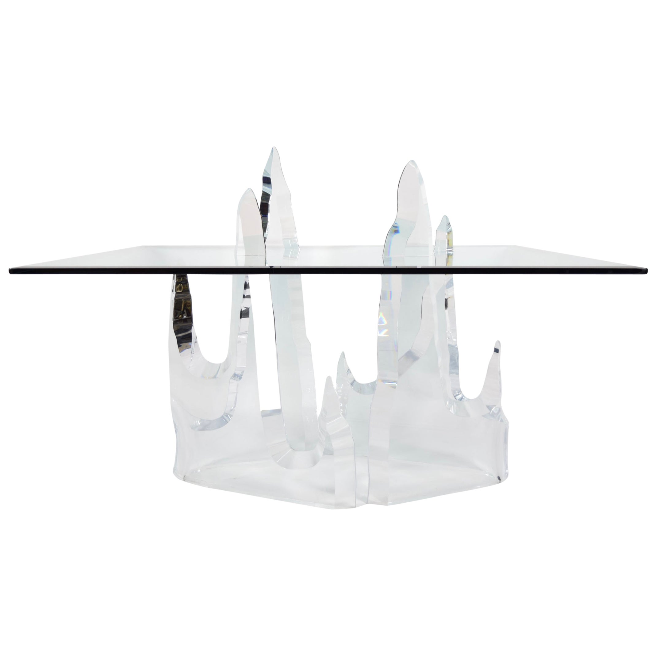 Lion in frost iceberg dining table for sale at 1stdibs dzzzfo