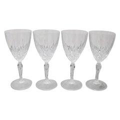 Set of Four Crystal Glasses