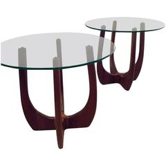 Pair of Adrian Pearsall Mid-Century Modern End Tables