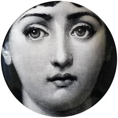 Piero Fornasetti Tema E Variazioni Porcelain Plate,  #1