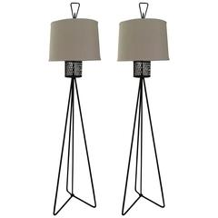 Single Frederick Weinberg Floor Lamp