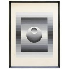 20th Century Contemporary Rosie Laskoskie Acrylic on Canvas