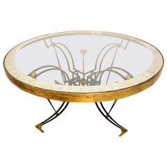 Round Dining Table Attributed to Arturo Pani