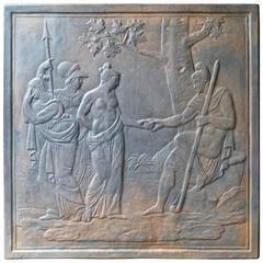 19th Century Judgement of Paris Fireback
