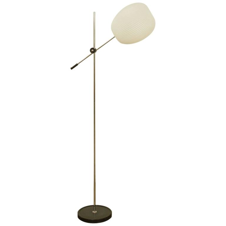 this mid century standard lamp with white shade is no longer available. Black Bedroom Furniture Sets. Home Design Ideas