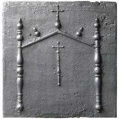 16th-17th Century Gothic Fireback
