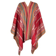 Late 19th Early 20th Century Poncho