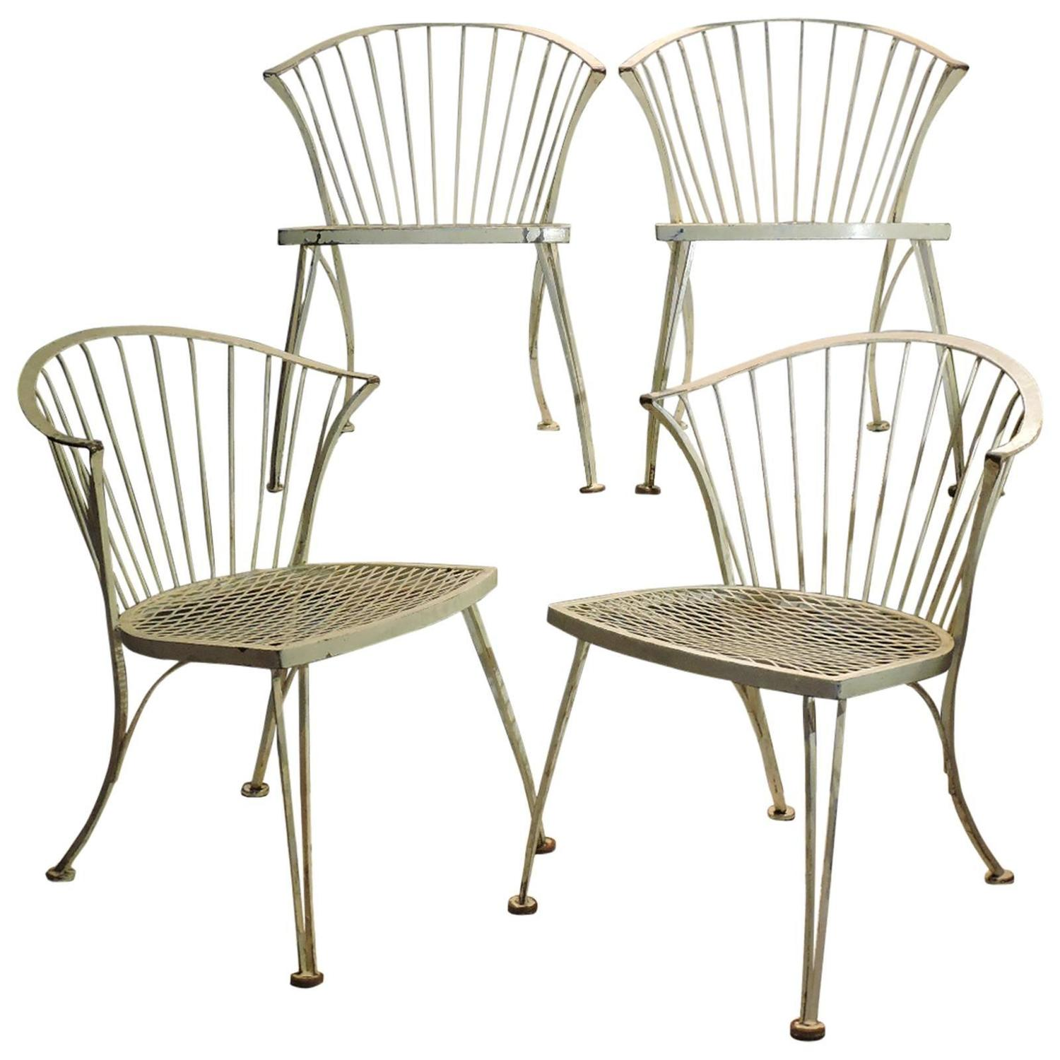 Set Of Four Russell Woodard Pinecrest Chairs At 1stdibs