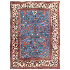 Amazing Antique Persian Sultanabad Rug