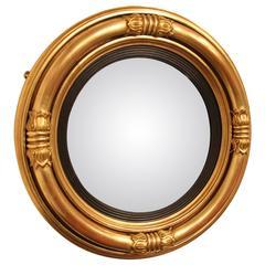 Regency Convex Butlers Mirror, circa 1825