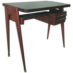 Petite Rosewood Desk in Style of Paolo Buffa